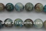 CCS02 15.5 inches 10mm round natural chrysocolla gemstone beads