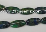 CCS171 15.5 inches 9*18mm marquise dyed chrysocolla gemstone beads
