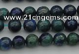 CCS521 15.5 inches 6mm round dyed chrysocolla gemstone beads