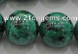 CCS808 15.5 inches 20mm round natural Chinese chrysocolla beads