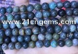CCS885 15.5 inches 8mm round Chinese chrysocolla beads
