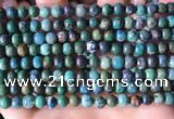CCS893 15 inches 6mm round natural chrysocolla gemstone beads