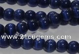 CCT1232 15 inches 4mm round cats eye beads wholesale