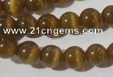 CCT1332 15 inches 6mm round cats eye beads wholesale