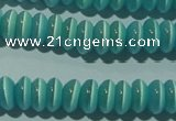 CCT237 15 inches 3*6mm rondelle cats eye beads wholesale
