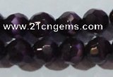 CCT385 15 inches 8mm faceted round cats eye beads wholesale
