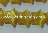 CCT867 15 inches 10mm star cats eye beads wholesale