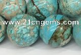CDE1371 15.5 inches 14mm round sea sediment jasper beads wholesale