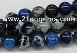 CDE44 15.5 inches 10mm round dyed sea sediment jasper beads wholesale