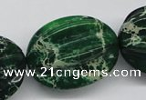 CDE78 15.5 inches 26*33mm star fruit shaped dyed sea sediment jasper beads