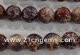 CDI845 15.5 inches 14mm round dyed imperial jasper beads wholesale