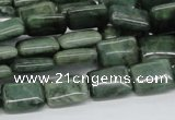 CDJ05 15.5 inches 10*14mm rectangle Canadian jade beads wholesale