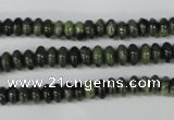 CDJ102 15.5 inches 3*6mm rondelle Canadian jade beads wholesale