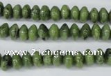 CDJ103 15.5 inches 5*8mm rondelle Canadian jade beads wholesale