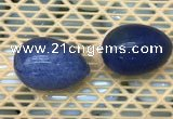 CDN336 35*50mm egg-shaped blue dumortierite decorations wholesale