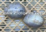 CDN362 35*50mm egg-shaped picasso jasper decorations wholesale