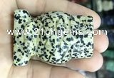 CDN575 35*50mm owl dalmatian jasper decorations wholesale