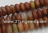 CDQ04 15.5 inches 6*12mm rondelle natural red quartz beads wholesale