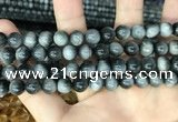 CEE512 15.5 inches 8mm round eagle eye jasper beads