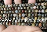 CEE524 15.5 inches 6mm round eagle eye jasper beads wholesale