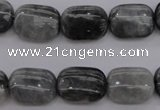 CEE74 15.5 inches 12*16mm rectangle eagle eye jasper beads