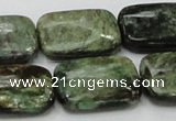 CEM20 15.5 inches 18*25mm rectangle emerald gemstone beads wholesale