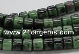 CEP08 15.5 inches 8*6mm column epidote gemstone beads Wholesale