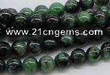 CEP21 15.5 inches 8mm round epidote gemstone beads Wholesale