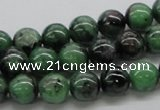 CEP22 15.5 inches 10mm round epidote gemstone beads Wholesale