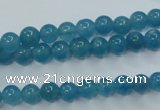 CEQ02 15.5 inches 6mm round blue sponge quartz beads wholesale