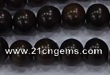 CEY53 15.5 inches 10mm round ebony wood beads wholesale