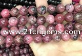 CFE24 15.5 inches 13mm round natural fowlerite beads wholesale