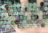 CFL1152 15.5 inches 8mm round fluorite gemstone beads
