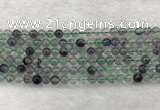 CFL1460 15.5 inches 4mm round A grade fluorite gemstone beads