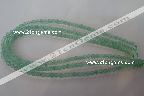 CFL852 15.5 inches 8mm round green fluorite gemstone beads