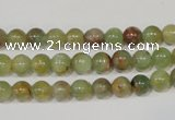 CGA202 15.5 inches 6mm round natural green garnet beads