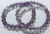 CGB4007 7.5 inches 9mm round ametrine beaded bracelets