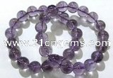 CGB4010 7.5 inches 12mm round ametrine beaded bracelets