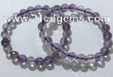 CGB4015 7.5 inches 8mm faceted round ametrine beaded bracelets