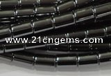 CHE122 15.5 inches 5*8mm tube hematite beads wholesale