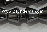 CHE210 15.5 inches 10*20mm dumbbell hematite beads wholesale