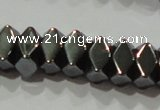 CHE221 15.5 inches 4*6mm hematite beads wholesale
