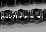 CHE232 15.5 inches 10*12mm hematite beads wholesale