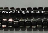 CHE234 15.5 inches 4*7mm star hematite beads wholesale