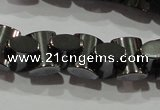 CHE243 15.5 inches 7*9mm bowknot hematite beads wholesale