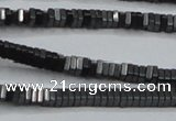CHE412 15.5 inches 1*4*4mm square matte hematite beads wholesale