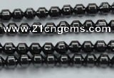 CHE971 15.5 inches 4*4mm hematite beads wholesale