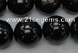 CHS05 15.5 inches 20mm round natural hypersthene gemstone beads