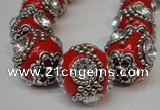 CIB203 19mm round fashion Indonesia jewelry beads wholesale