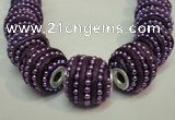 CIB474 14*14mm drum fashion Indonesia jewelry beads wholesale